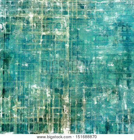 Damaged retro texture with grunge style elements and different color patterns: gray; green; blue; cyan; white