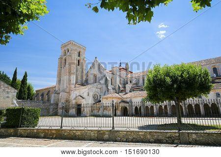 Las Huelgas Abbey Near Burgos In Spain