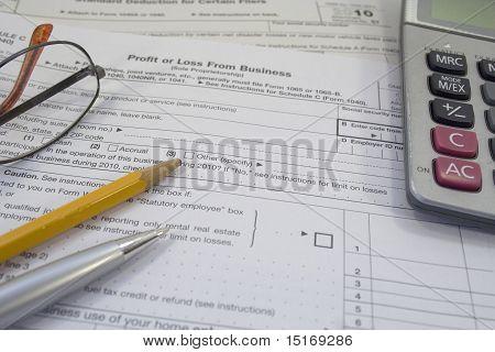 Impuesto forma nos