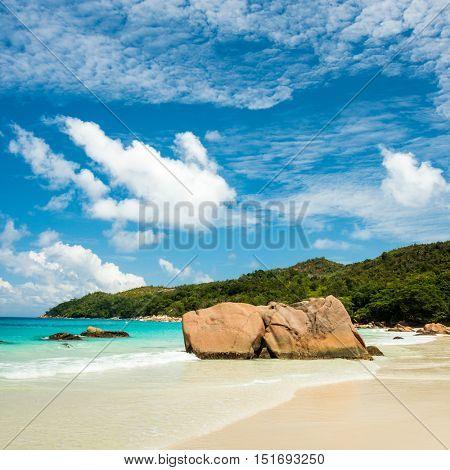 Anse Lazio beach, Praslin island, Seychelles