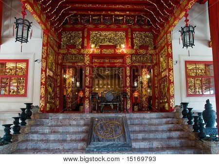 Chinese Style Building At The Bang Pa In Palace, Thailand