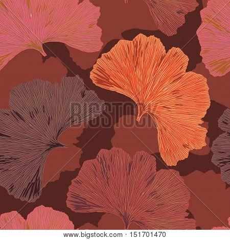 Ginkgo Biloba Leaf Tablecloth