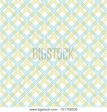 Geometric abstract background. Seamless modern pattern with colored diagonal lines