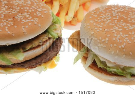 Hamburgers And Potatoes