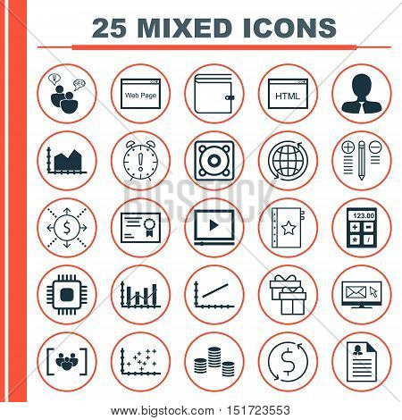 Set Of 25 Universal Icons On Female Application, Sequence Graphics, Plot Diagram And More Topics. Ve