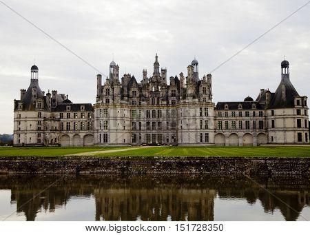 Chateau de Chambord. France. Castles of Loire. UNESCO