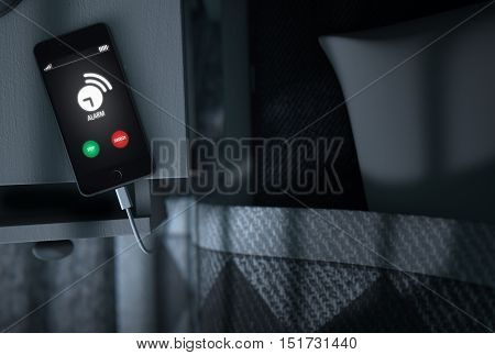Alarming Cellphone Next To Bed
