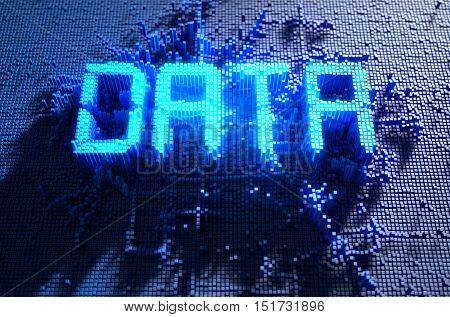 Pixel Data Concept
