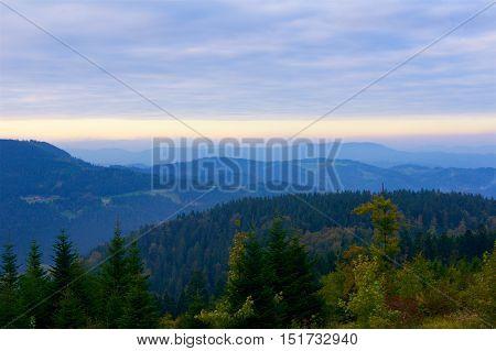 Black Forest in Germany Schwarzwald in Europe