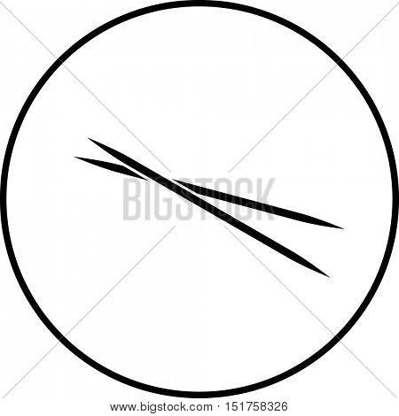 toothpicks symbol