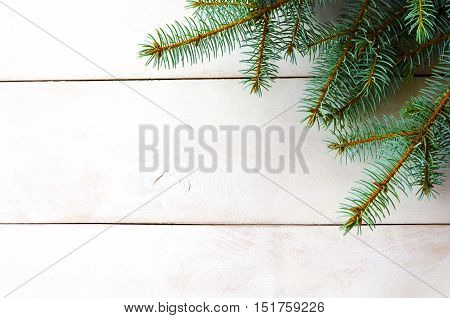 New Year Christmas white background for design