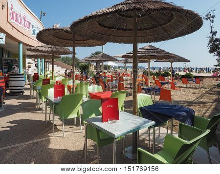 Venezia Lido Beach In Venice