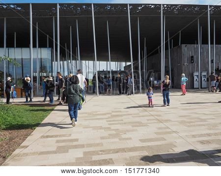 Stonehenge Visitor Centre In Amesbury