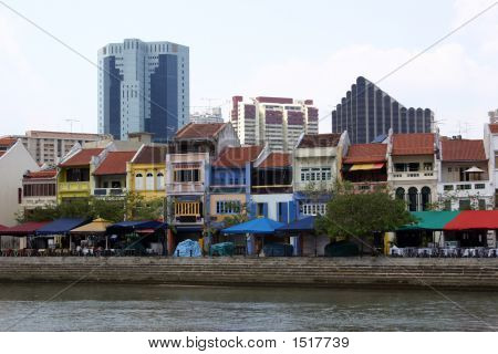 Riverwalk:  Singapore