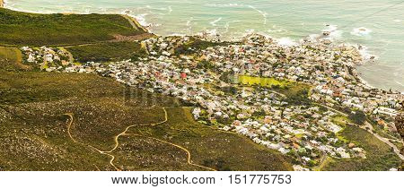 View Of Camps Bay, South Africa