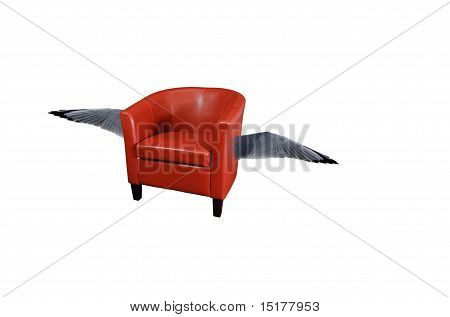 Flying Armchair