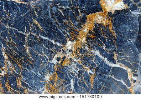 Yellow Patterned natural of dark gray marble pattern background texture for product design.