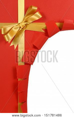 Untidy Torn Gift