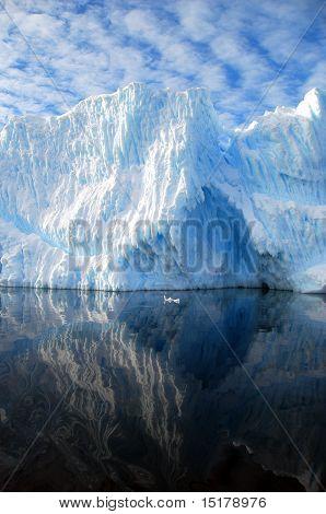 striated iceberg