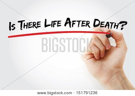 Hand Writing Is There Life After Death?