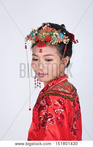 Sad Chinese Bride