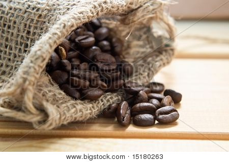 Sack Of Coffee Beans