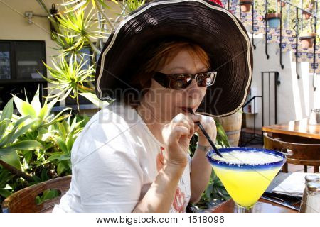 Woman With Drink