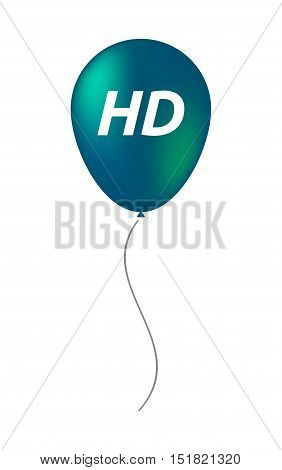 Isolated Balloon With    The Text Hd