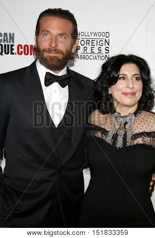 Bradley Cooper and Sue Kroll at the 30th Annual American Cinematheque Awards Gala held at the Beverly Hilton Hotel in Beverly Hills, USA on October 14, 2016.