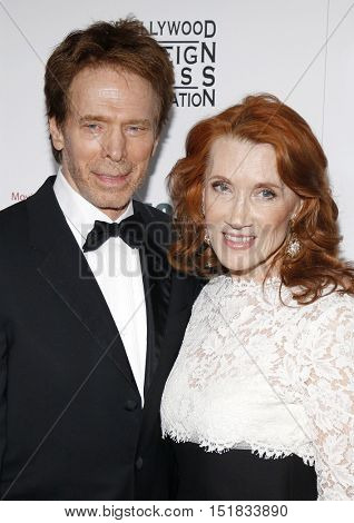Jerry Bruckheimer and Linda Bruckheimer at the 30th Annual American Cinematheque Awards Gala held at the Beverly Hilton Hotel in Beverly Hills, USA on October 14, 2016.