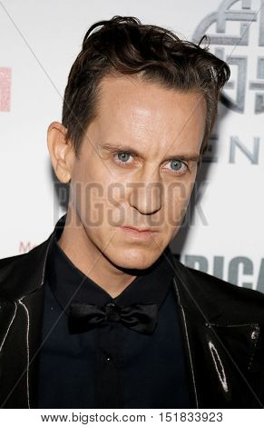 Jeremy Scott at the 30th Annual American Cinematheque Awards Gala held at the Beverly Hilton Hotel in Beverly Hills, USA on October 14, 2016.