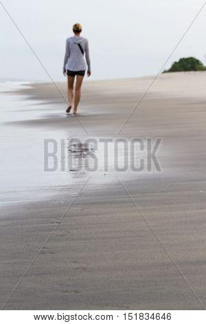 Relaxing Beach In Panama