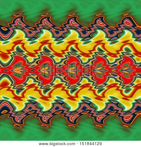 Abstract image,colorful graphics,tapestry,horizontal pattern, ornament,bright colors,abstract background,
