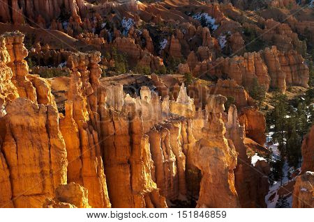 Early Morning Light at Bryce Canyon National Park