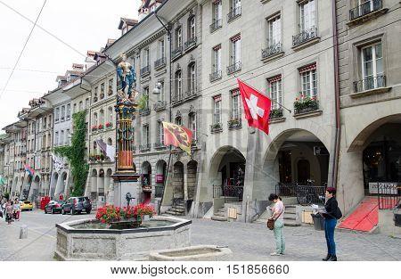 The Gerechtigkeitsbrunnen (
