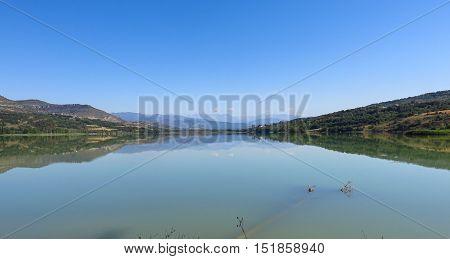 Terradets Reservoir, In Catalonia, Spain