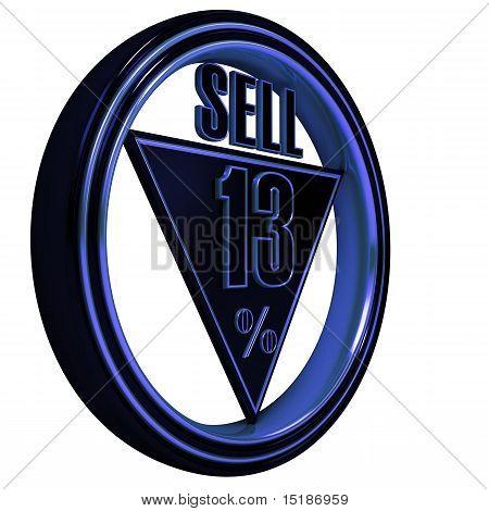 Vender oro metal 13 %
