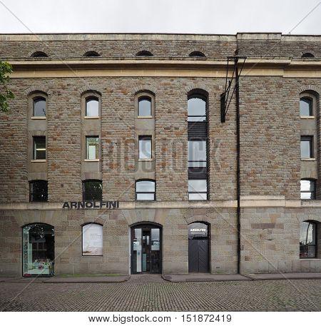 Arnolfini Art Centre In Bristol