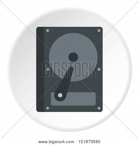 CD rom icon. Flat illustration of CD rom vector icon for web