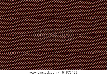 Orange brown red diagonal lines inside squares