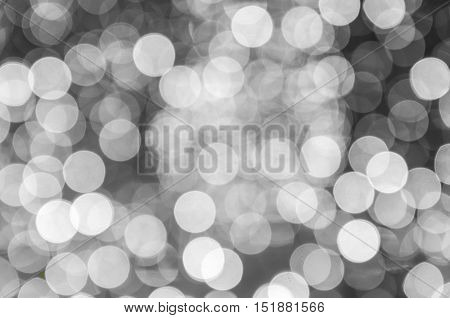 Abstract bright bokeh background of Christmaslight