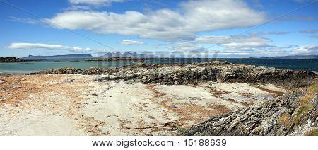 Isles of Eigg and Rum.
