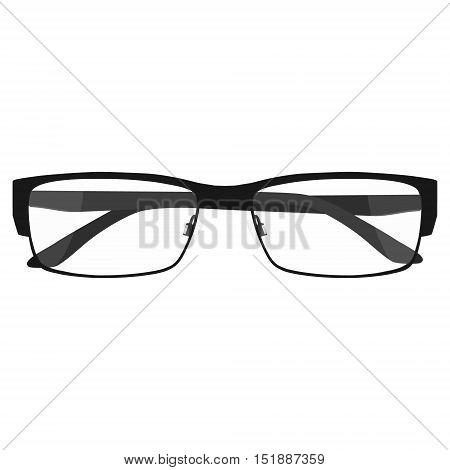 Glasses Model Vector