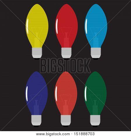 Christmas Light Bulb Set