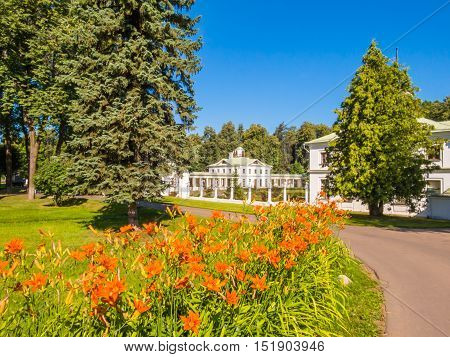 Serednikovo the historical manor situated near Moscow