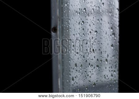 Drops Of Rain Water During The Rainy Season.