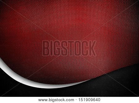 metal mesh with curve design background