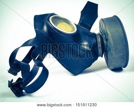 Vintage German Civilian Gas Mask. Wwii.