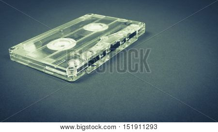 Retro Vintage Audio Cassette.