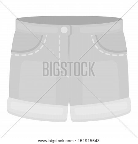Shorts icon of vector illustration for web and mobile design